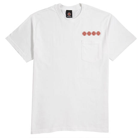 INDEPENDENT CHAIN CROSS POCKET TEE