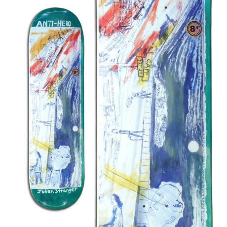 ANTI HERO JULIEN STRANGER SF THEN AND NOW DECK  (8.4 x 32inch)