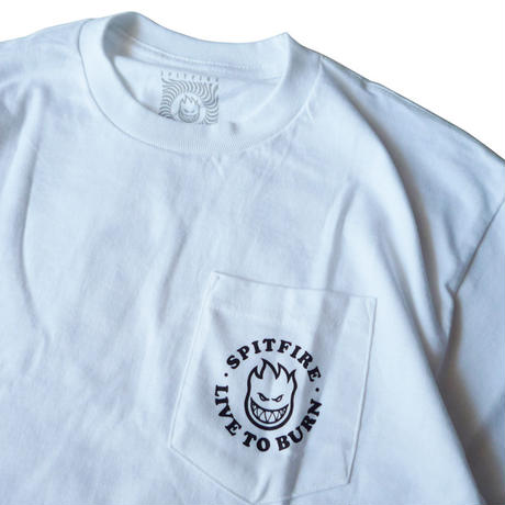 SPITFIRE BIGHEAD LIVE TO BURN (LTB) POCKET TEE
