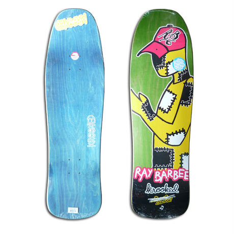 KROOKED RAY BARBEE REDUX DECK (9.5 x 31.75inch)
