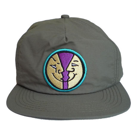 KROOKED MOONSMILE SNAPBACK CAP