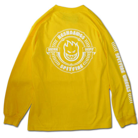 SPITFIRE x HESHDAWGZ LIMITED ARSON DEPARTMENT L/S TEE