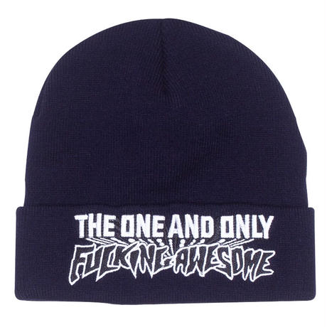 FUCKING AWESOME ONE AND ONLY BEANIE