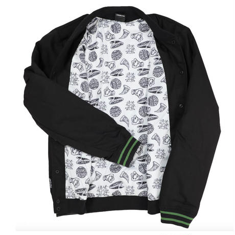 SANTA CRUZ x TEENAGE MUTANT NINJA TURTLES HALF SHELL TEAM  JACKET