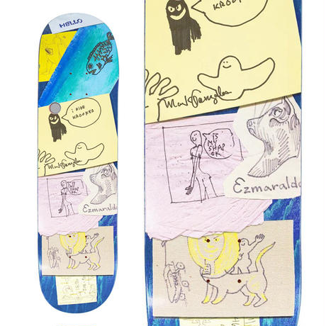 KROOKED MARK GONZALES MY SHAP DECK (7.75 x 31.25inch)