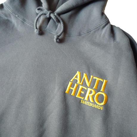 ANTI HERO LIL BLACKHERO EMBROIDERY HOODIE
