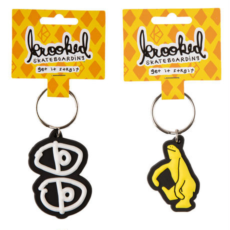 KROOKED EYES / SHMOO KEYCHAIN