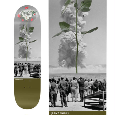 LOVESICK NUCLEAR ROSE DECK  (8 x 31.8inch)