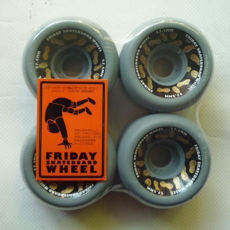 FRIDAY GOLDEN NUTS  WHEEL 57.5mm
