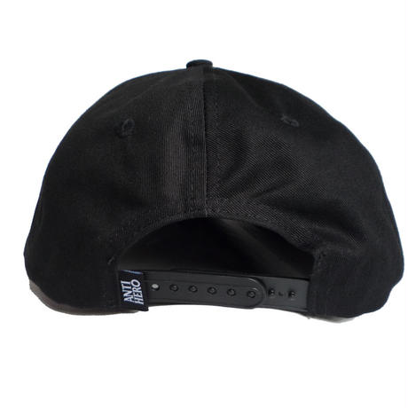 ANTI HERO BLACK HERO EMBROIDERY SNAPBACK CAP