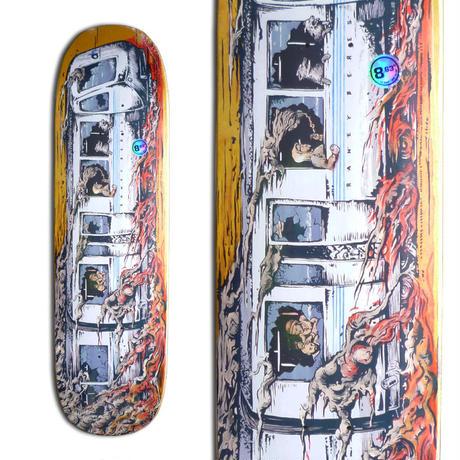 ANTI HERO RANEY BERES TRAINWRECK DECK (8.63 x 32.044inch)  RANEY SHAPE
