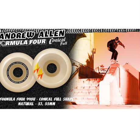 SPITFIRE ANDREW ALLEN FORMULA FOUR WHEELS CONICAL FULL SHAPE