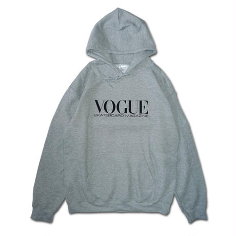 VOGUE SKATEBOARD MAGAZINE  PULLLOVER HOODIE