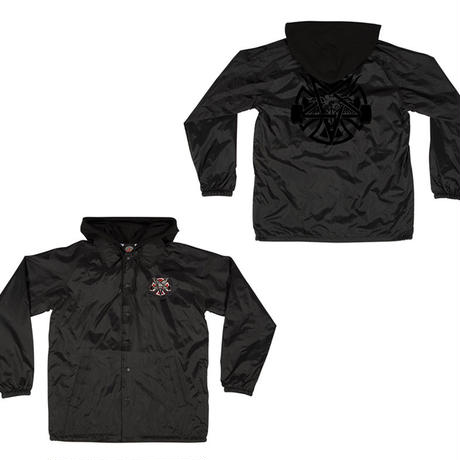 INDEPENDENT x THRASHER PENTAGRAM CROSS HOODED JACKET