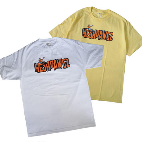 HESHDAWGZ  x JIM PHILLIPS  LOGO TEE
