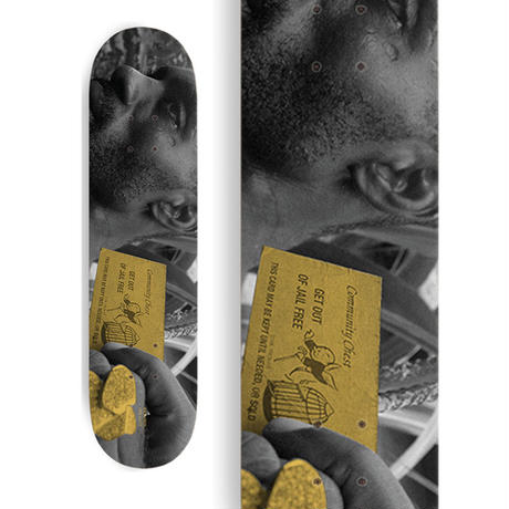 ONE LOVE x RICKARDS NINJAMAN DECK (8.13 x  31.9inch)