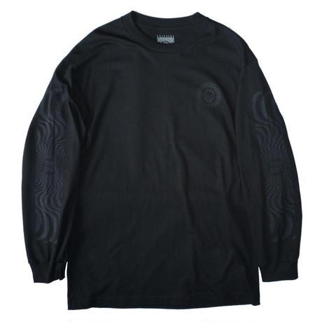 SPITFIRE CLASSIC SWIRL BLACKOUTS L/S TEE