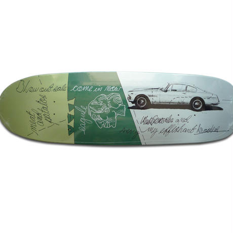 KROOKED MARK GONZALES EFFISHANT DECK (9.87 x 33.7inch)