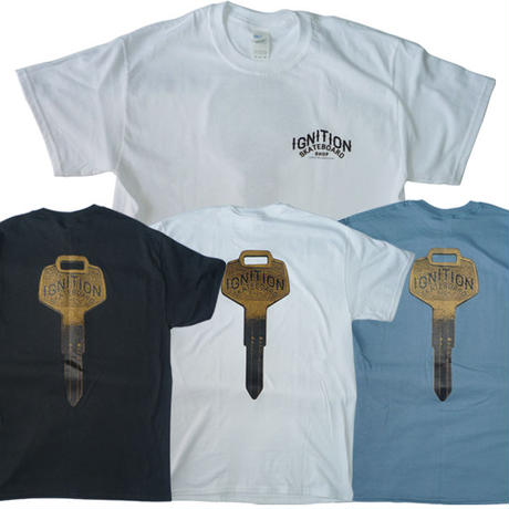 IGNITION SKATESHOP KEY TEE