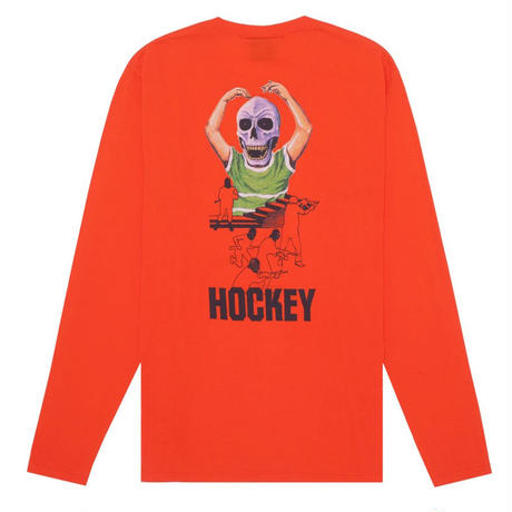 HOCKEY SKULL KID L/S TEE