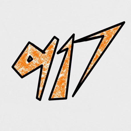 CALL ME 917 SPACE L/S TEE