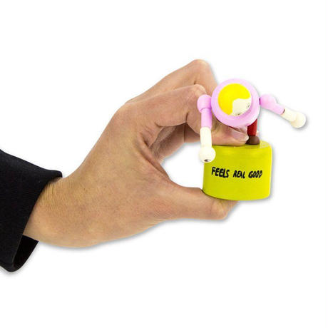 CHRIS JOHANSON FEELS REAL GOOD PUSH-UP TOY