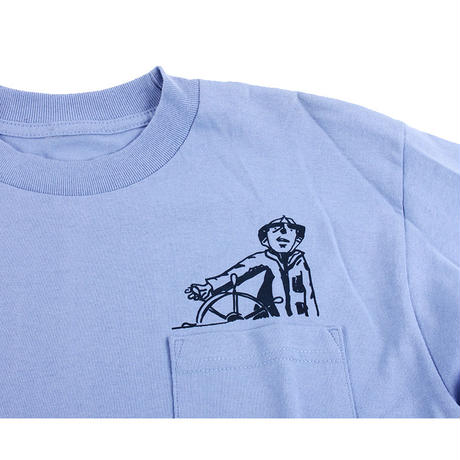 THE THURSDAYMAN CAPTAIN  POCKET L/S TEE