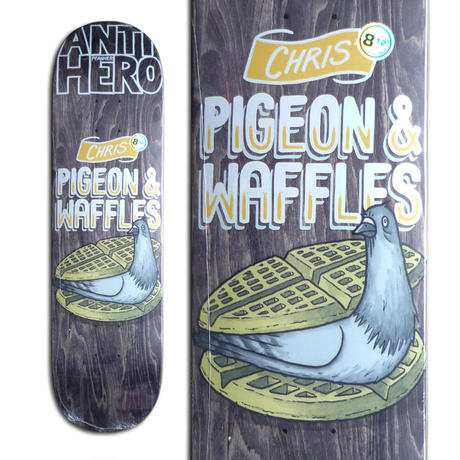 ANTI HERO CHRIS PFANNER PIGEON FRIED DECK (8.12 x 31.38inch)