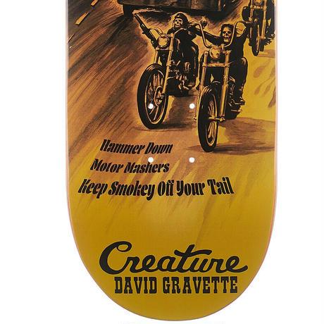 CREATURE DAVID GRAVETTE ROADSIDE TERROR DECK  (8.3 x 32.2inch)