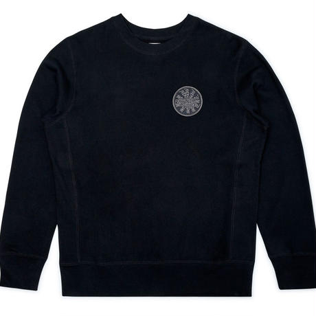FUCKING AWESOME SPIRAL FRENCH TERRY CREWNECK