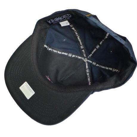 KROOKED EYES SNAPBACK CAP