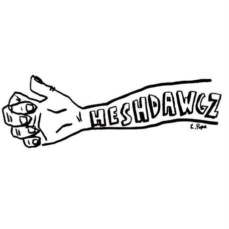 HESHDAWGZ  x RUSS POPE ARM CREWNECK