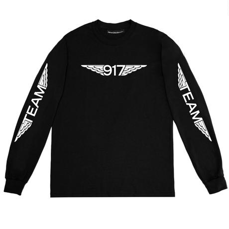 CALL ME 917 TEAM WINGS L/S TEE