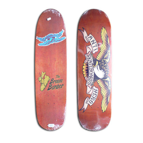 ANTI HERO SHAPED EAGLE2 BROWN BOMBER DECK (8.86 x 32inch)