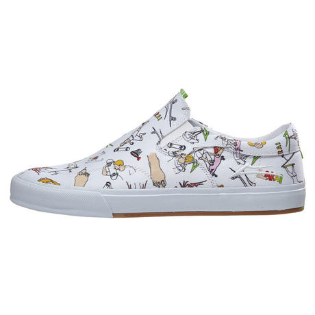 LAKAI x POROUS WALKER OWEN VLK SHOES CANVAS