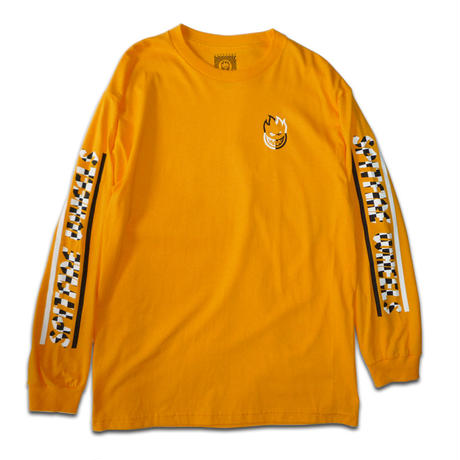 SPITFIRE STOCK BIGHEAD CHECKER BAR L/S TEE