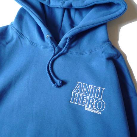 ANTI HERO LIL BLACK HERO OUTLINE HOODIE