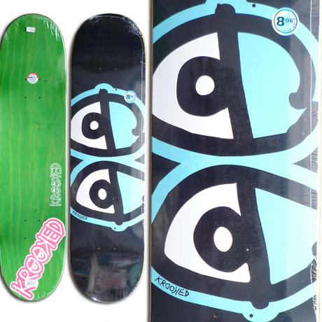 KROOKED TEAM EYES DECK (8.06 x 31.8inch)