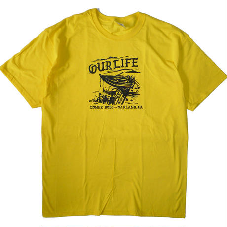 OUR LIFE WASHED UP TEE