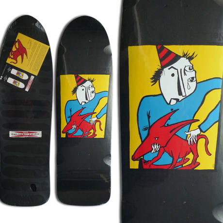 G&S NEIL BLENDER MODIFIED 80's ROCKING DOG DECK (9 x 31inch)