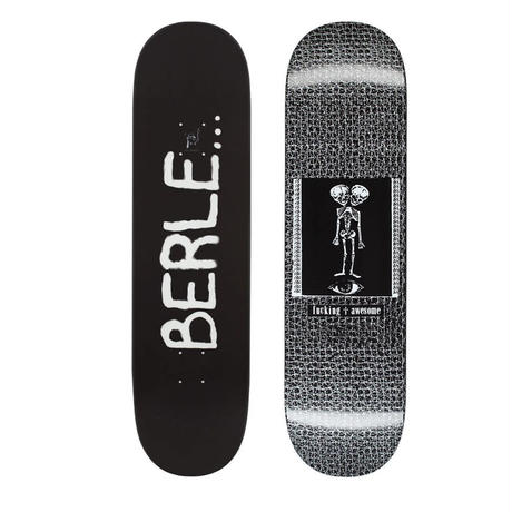 FUCKING AWESOME  ELIJAH BERLE DIPPED TWIN SKULL BABYDECK  (8.25 x 31.79inch)