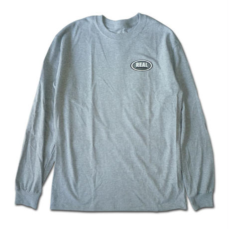 REAL SMALL OVAL  L/S TEE