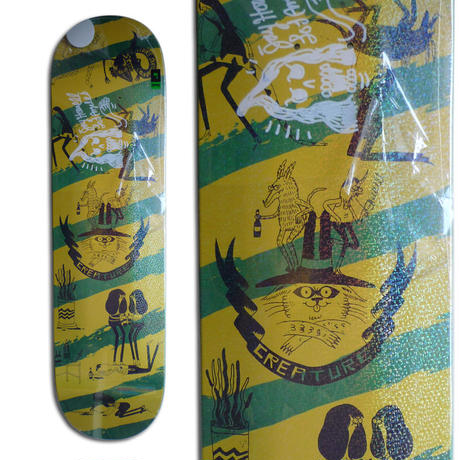 CREATURE x JAY HOWELL SNAKE BARF SMALL SIGNED DECK - A (8.0 x 31.8inch)  サイン入りデッキ & ポスター付き