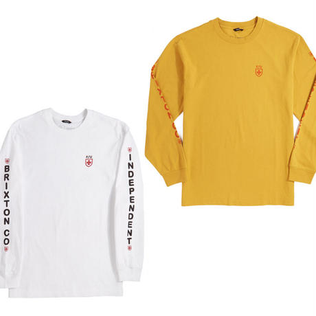BRIXTON x INDEPENDENT FRAME L/S TEE
