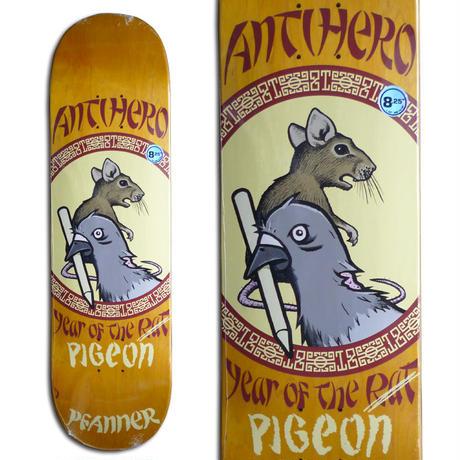 ANTI HERO CHRIS PFANNER YEAR OF THE PIGEON DECK   (8.25 x 32inch)