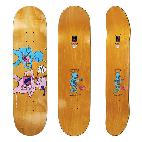 DEAR, x POLAR SKATE CO.  DANE BRADY TV KID DECK  (8.25 x 31.875inch)