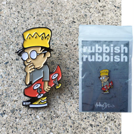RUBBISH RUBBISH  ANDY JENKINS PINS
