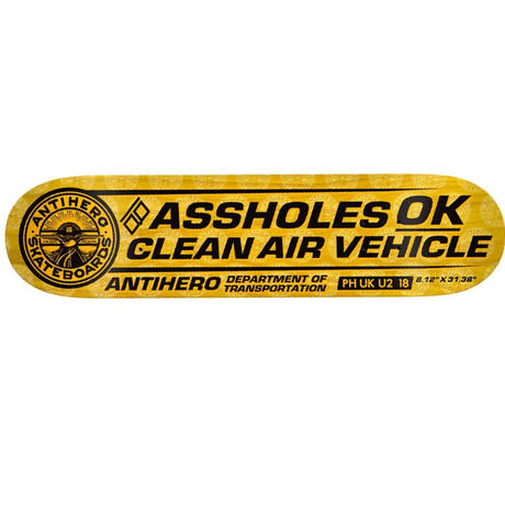 ANTI HERO CLEAN AIR DECK (8.12 x 31.38inch)