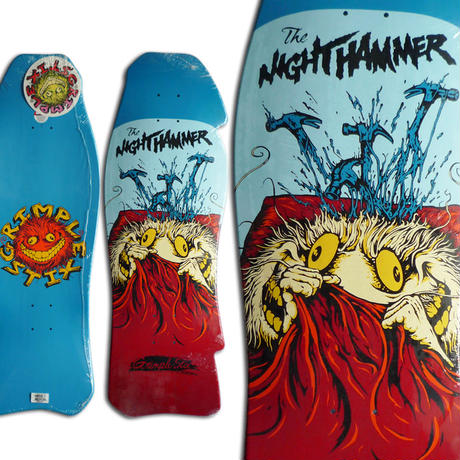 ANTI HERO GRIMPLE STIX NIGHT HAMMER DECK  (10.25 x 30.5inch)