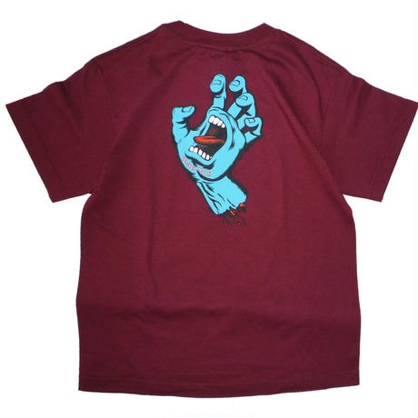 SANTA CRUZ SCREAMING HAND YOUTH TEE